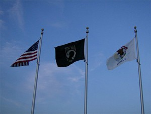 all-veterans-memorial-park-three-flags