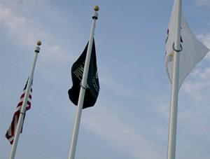all-veterans-memorial-park-raised-flags
